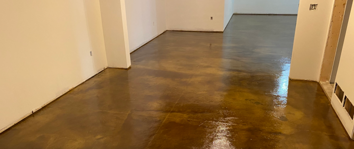 Millennium Decorative Concrete - Acid And Water Stained Floor