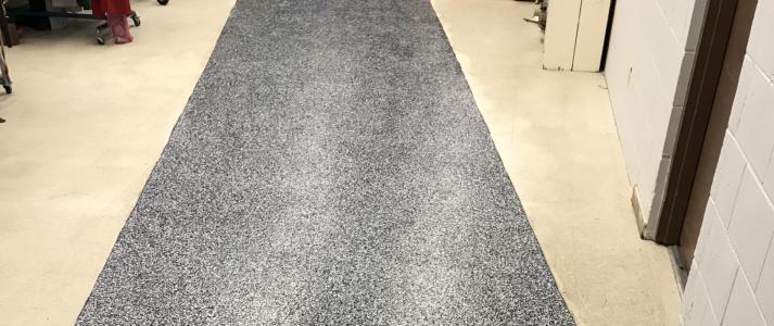 Millennium Decorative Concrete - Flake Floor